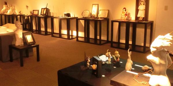 人形の展示会でご使用頂いた際の様子です。